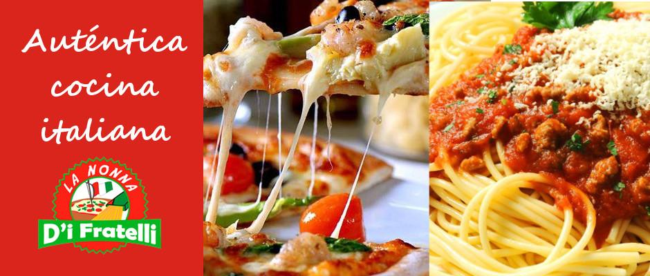 Comida italiana cerca de Dénia