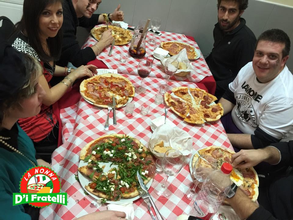 Cenar pizza en la Marina Alta